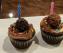 Double Chocolate Ferrero Rocher Cup Cake