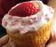 Egg less Strawberry Vanilla Cupcake
