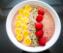 Raspberry Chia Seeds Breakfast Smoothie-Bowl